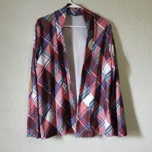 Jackets & Blazers - Light Plaid Jacket